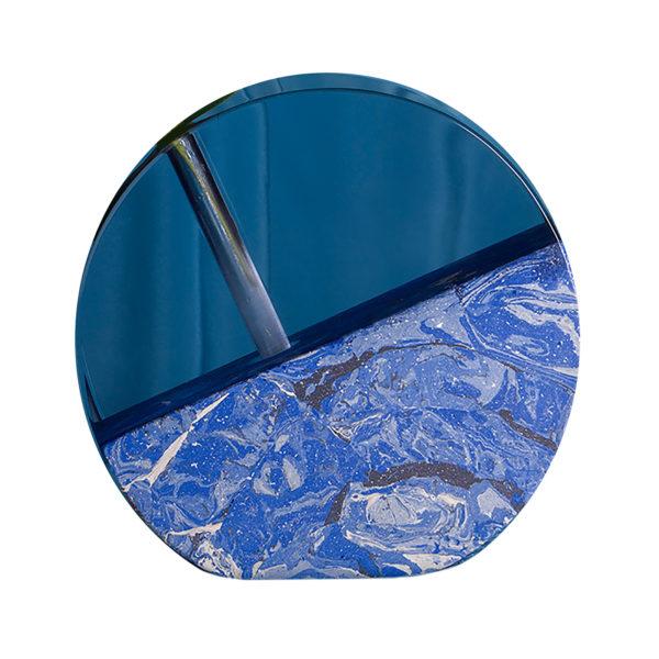 Blue Moon Vase