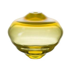 Lentil Orange Yellow Vase Delisart