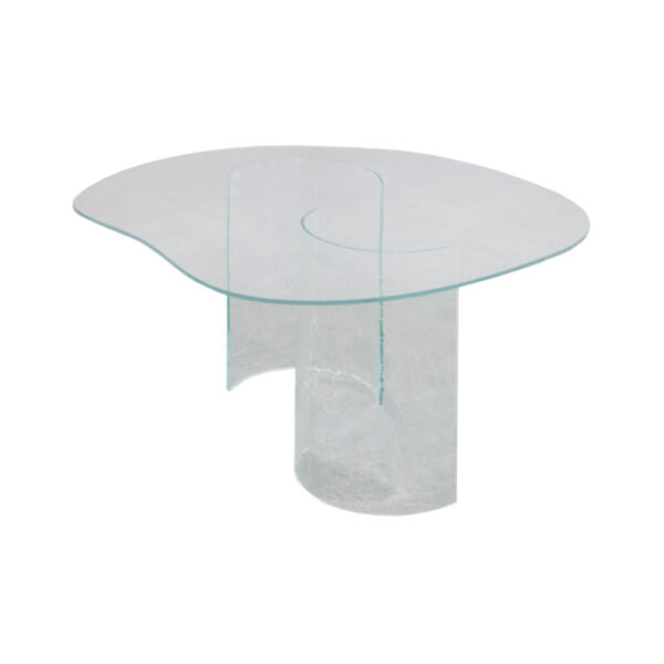 Curve Transparent Table