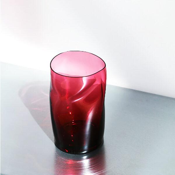 Form Vase Red