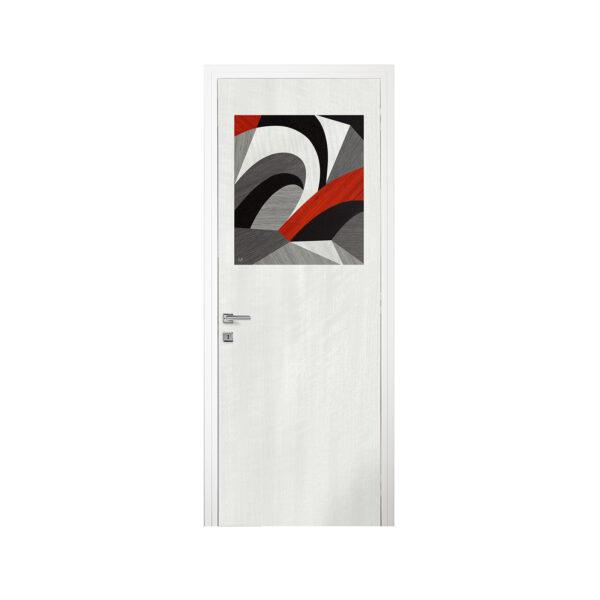 Via Roma Inlaid Door