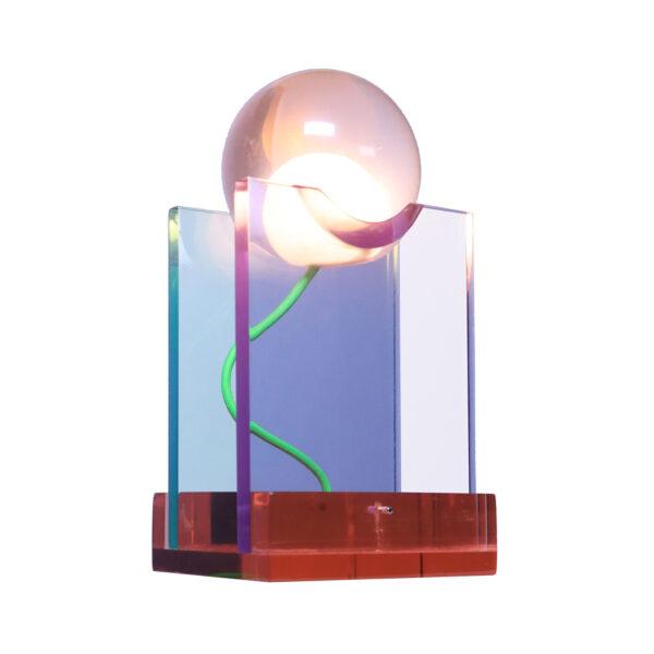 Rotonda Orange Table Lamp