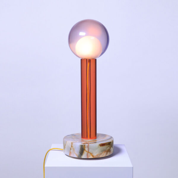 Tallo Orange Table Lamp