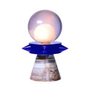 Tona Blue Table Lamp