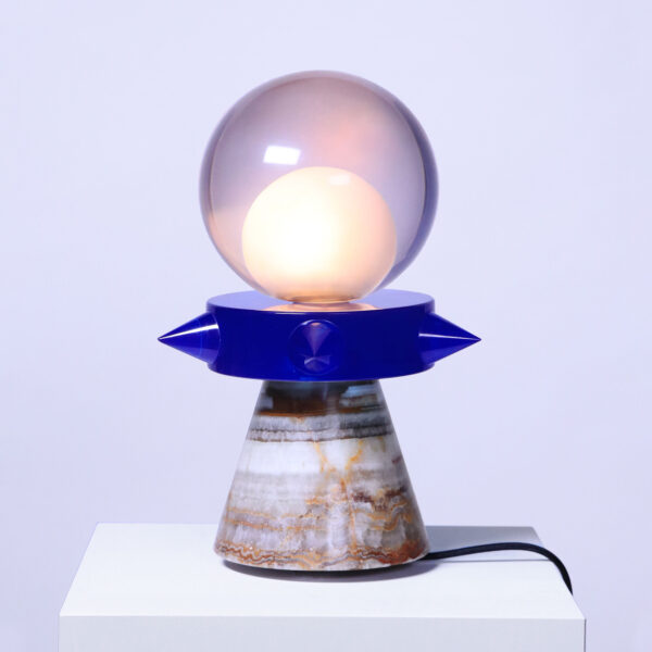 Tona Blue Table Lamp
