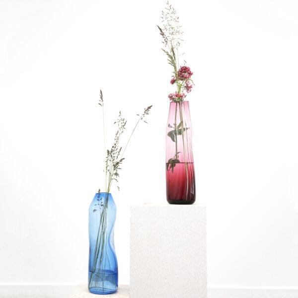 Curve Vase Blue