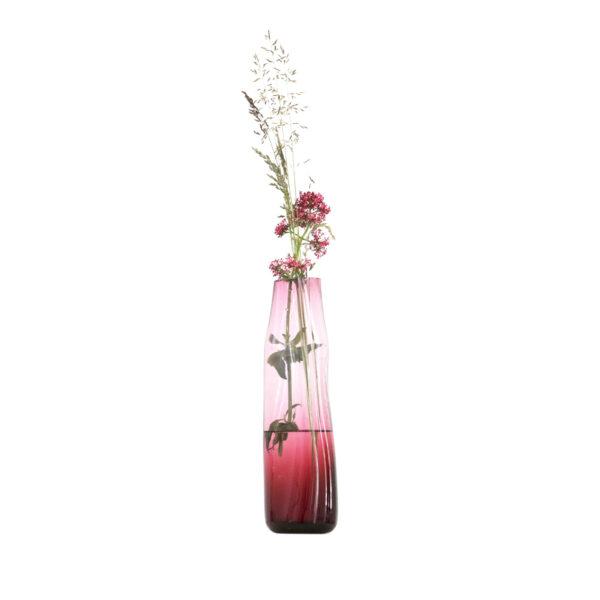 Curve Vase Red