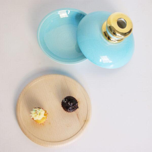 Entrée Turquoise Small Table Set