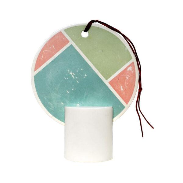 Poudre Round Table Mirror