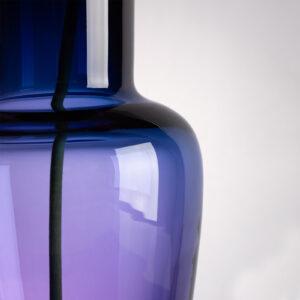 Garden Rainbow Aqua Vase