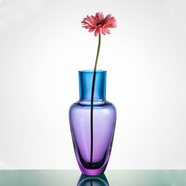 Garden Rainbow Turquoise Vase