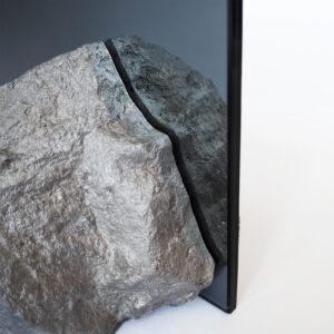Aluminium Stone Mirror