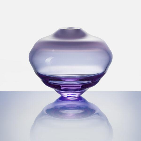 Lentil Matte Purple Vase