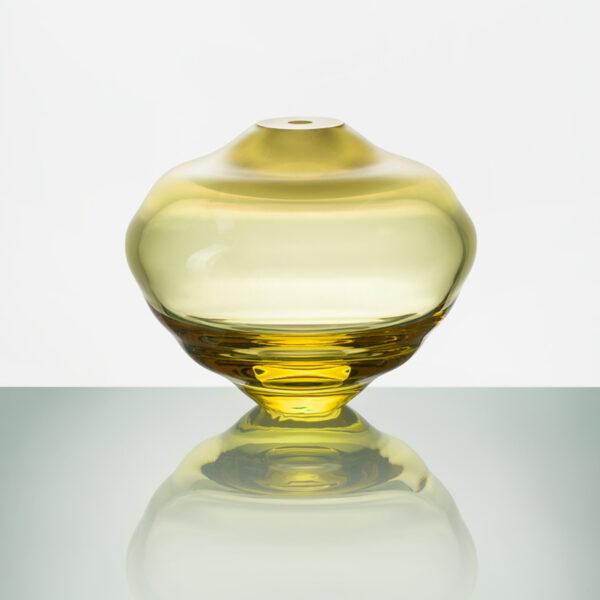 Lentil Matte Yellow Vase