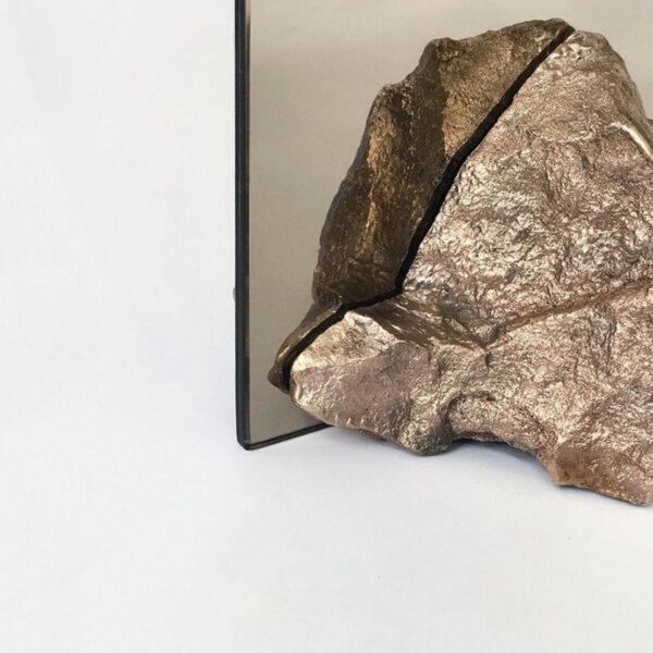 Bronze Stone Mirror