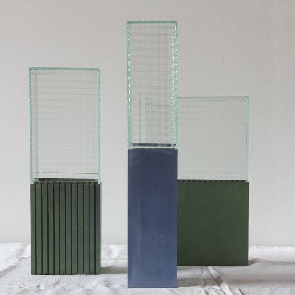 LE 55 Sage Green Vase Medium