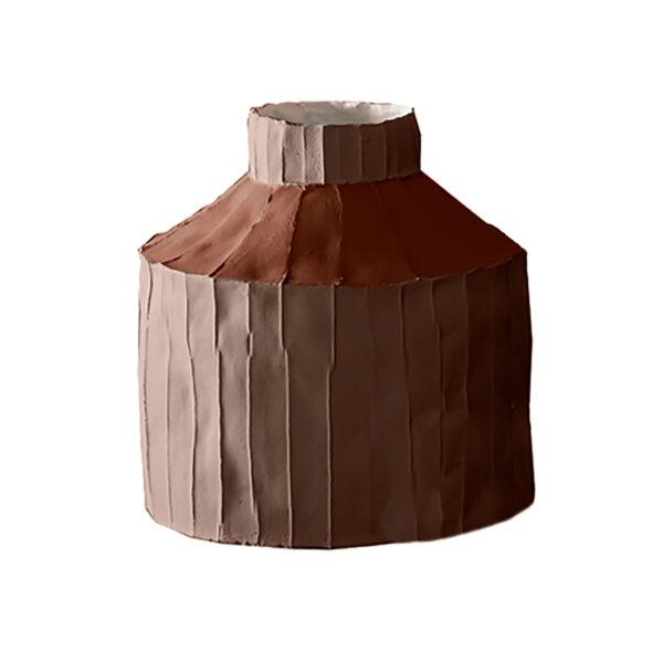 Fide Vase Multicolour Brown