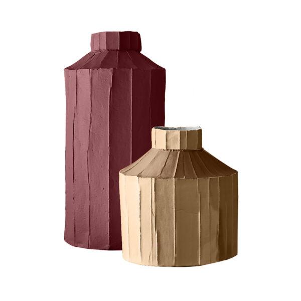 Fide Vases Pink Set of 2