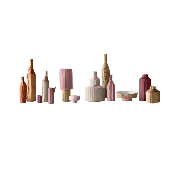 Fide Bottles Pink Set of 3