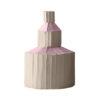 Ninfea Centerpiece Cup Pink Set of 2