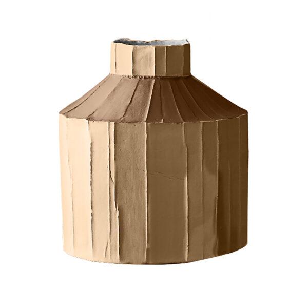 Fide Vase Bicolour Brown