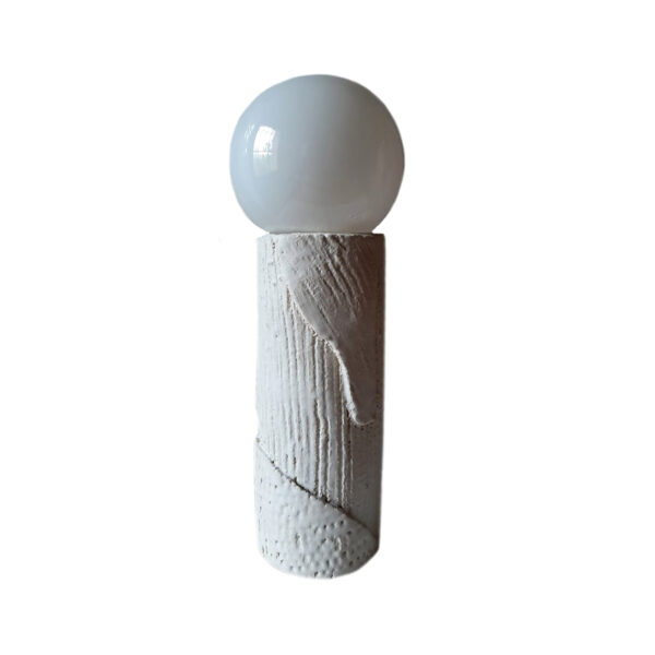Orb Stoneware Lamp