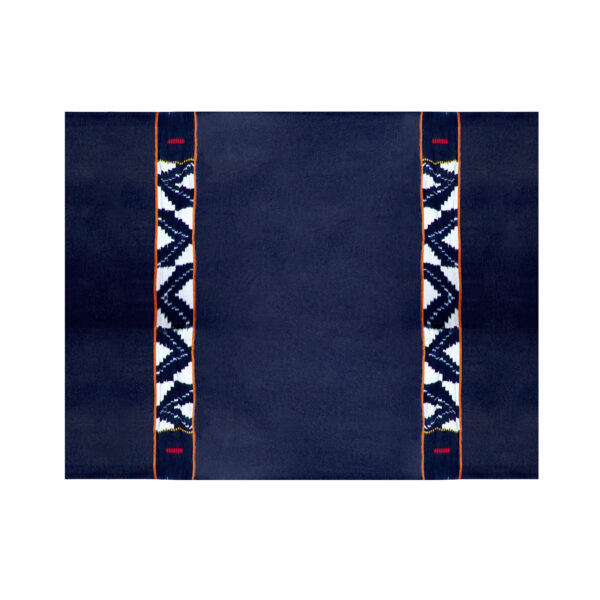 Indigo Ivory Coast Plaid