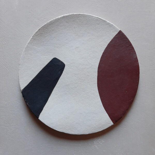Geo Plate Set of 2