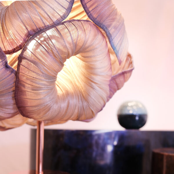 Anemone Table Lamp Airbrushed