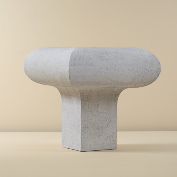 Single Legged Ceramic Table