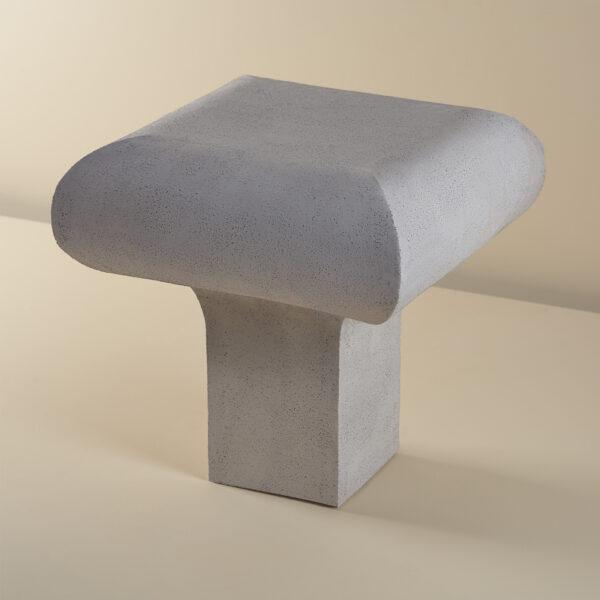Single Legged Ceramic Table