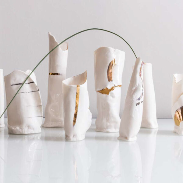 White Collection Vase No.3