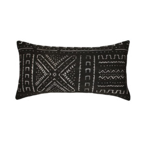 Natif Black Cushion