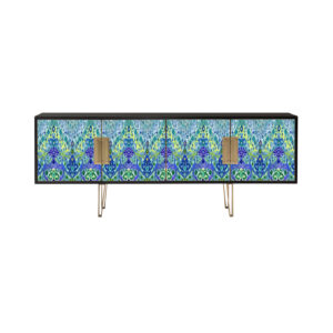 Blake Blue Ikat by Matthew Williamson