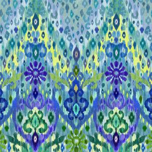Blake Blue Ikat by Matthew Williamson