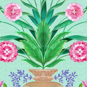 Barclay Floral Urn by Matthew Williamson