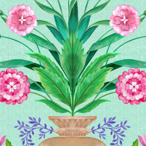 Cordelia Floral Urn by Matthew Williamson
