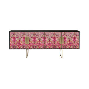 Blake Red Ikat by Matthew Williamson