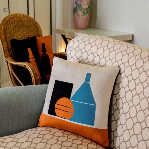Farella Capri X Le Morandine – Square Cushion