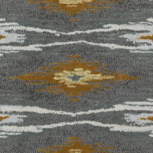 Iris Ikat Grey