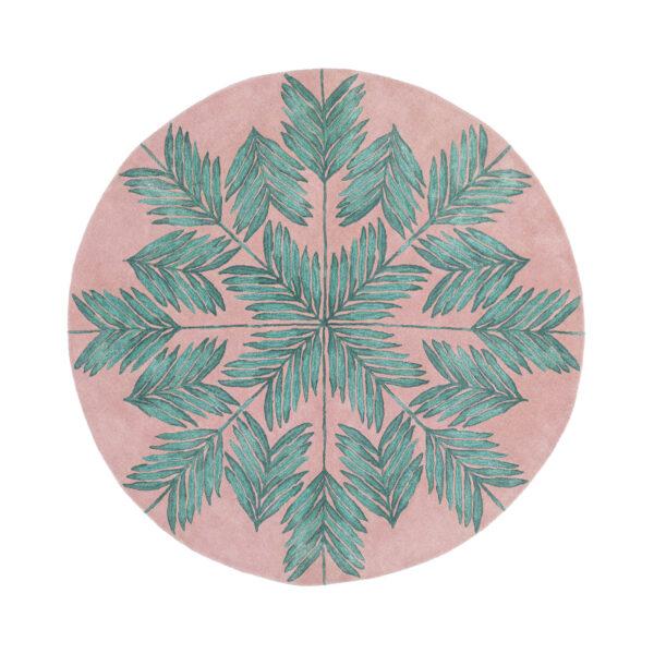 Cross My Palms Circle Pink