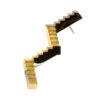 The Flâneur Necklace Brass