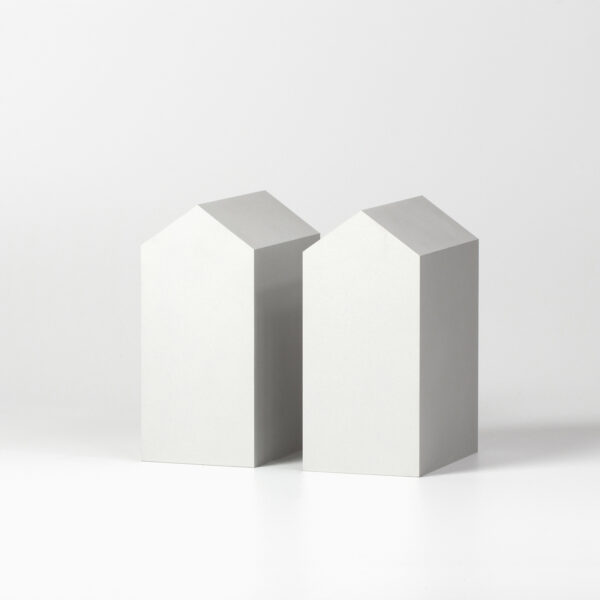 The Vault Silver Bookend Set of 2