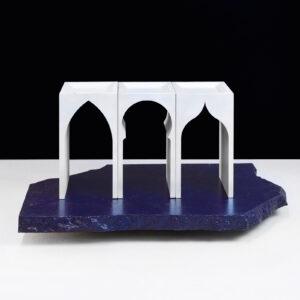 Pont D'eau Silver Bookend Set of 2